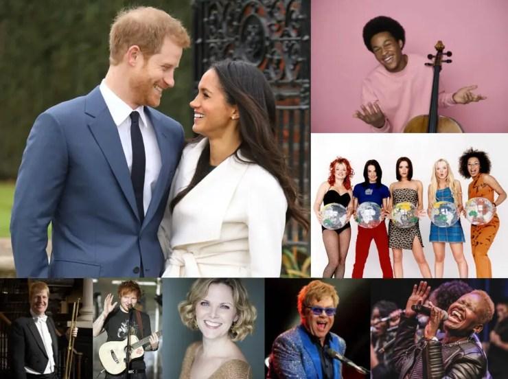 Royal Wedding Musicians - Harry and Meghan, Sheku Kanneh-Mason, Spice Girls, Karen Kingdom Choir, Elton John, Elin Manahan-Thomas, Ed Sheeran, David Blackadder