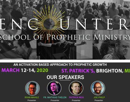 School of Prophetic Ministry - Brighton 2020