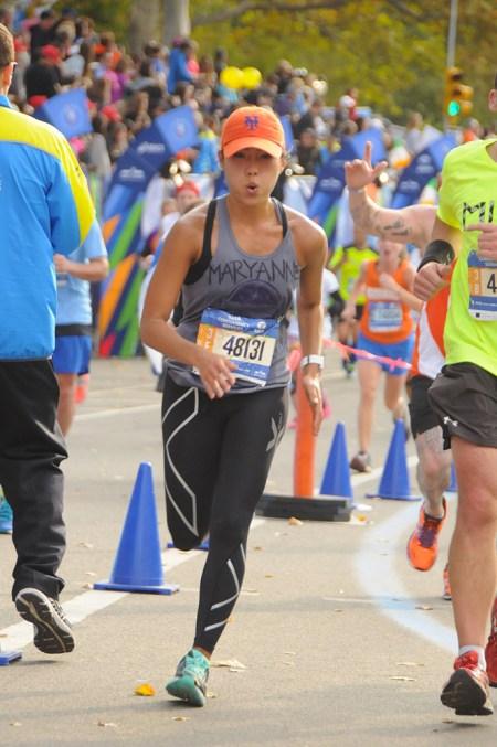 NYC Marathon - MaryAnne Fraser