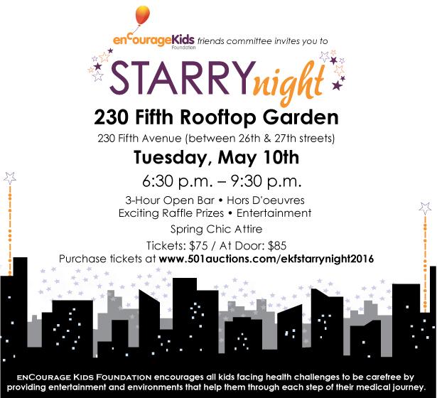 enCourage Kids Starry Night Event