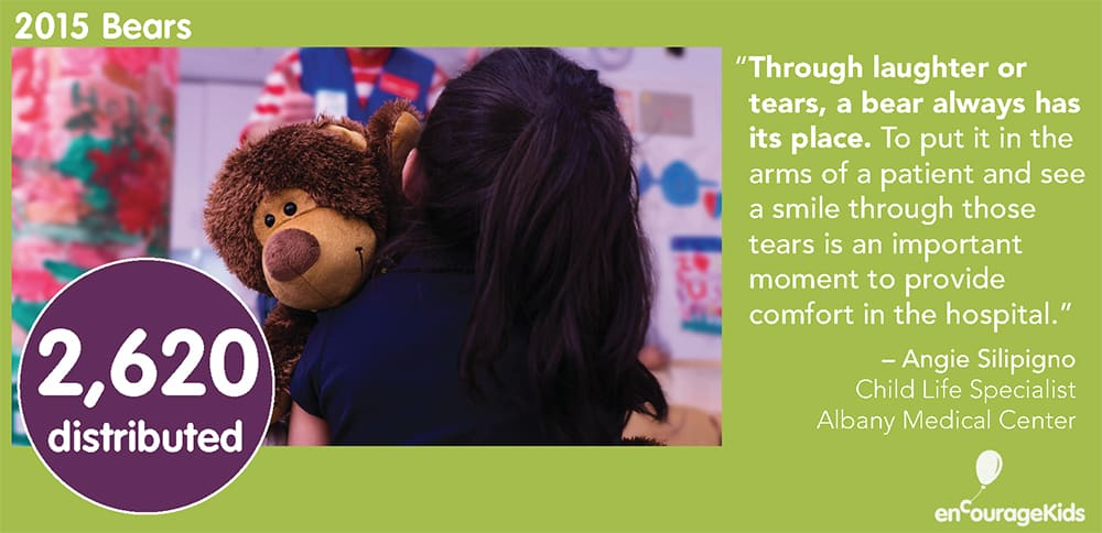 2015 enCourage Kids Bears Year in Review