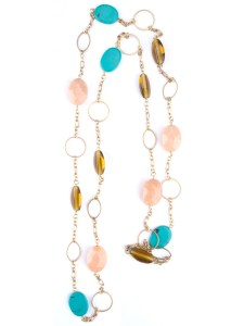 colorful juggle necklace
