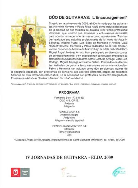 IV Jornadas de Guitarra de Elda