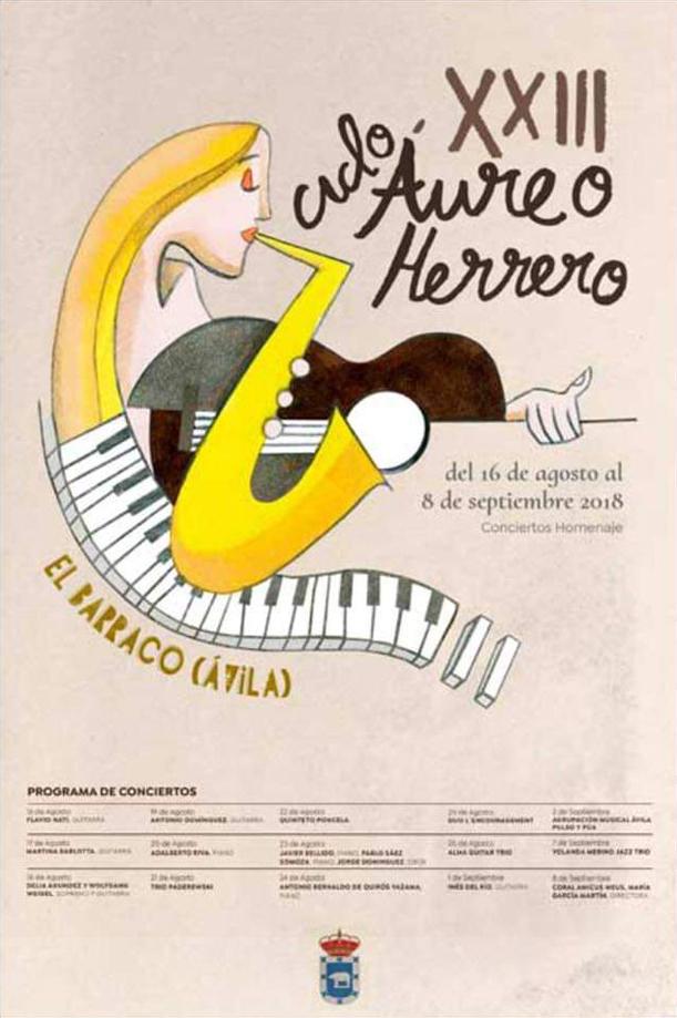 """XXIII Ciclo de Conciertos """"Aureo Herrero"""", El Barraco (Ávila)"""