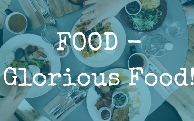 Food.  Glorious Food.