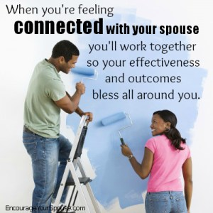 feel connected and work together to bless others