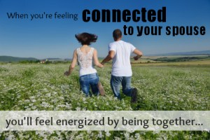 feel connected and be energized