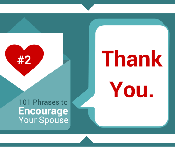 "Gratitude - saying ""Thank You."" -"