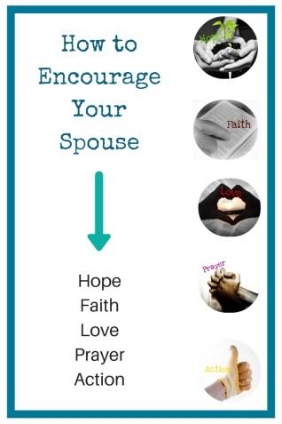 How to Encourage Your Spouse Hope Faith Love Prayer Action