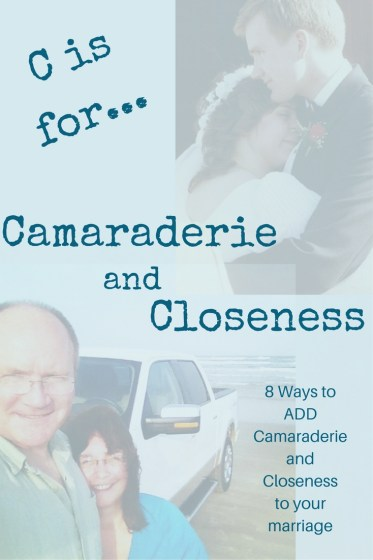 8 Ways to add Camaraderie and Closeness to your marriage