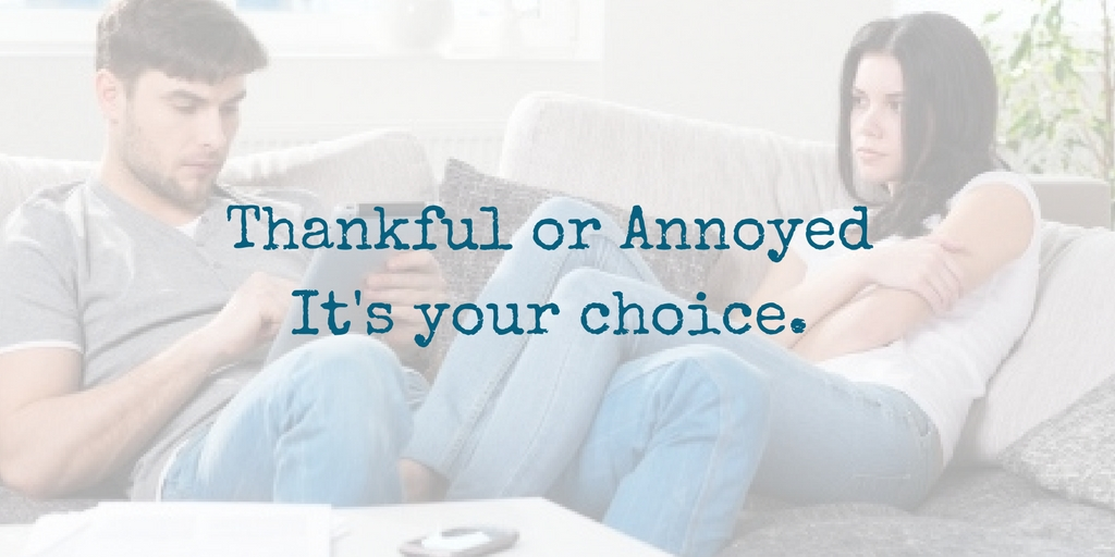 Be Thankful For The Annoying Things Your Spouse Does