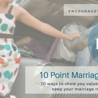How to Show You Value Your Spouse - 10 Point Marriage Tune-Up