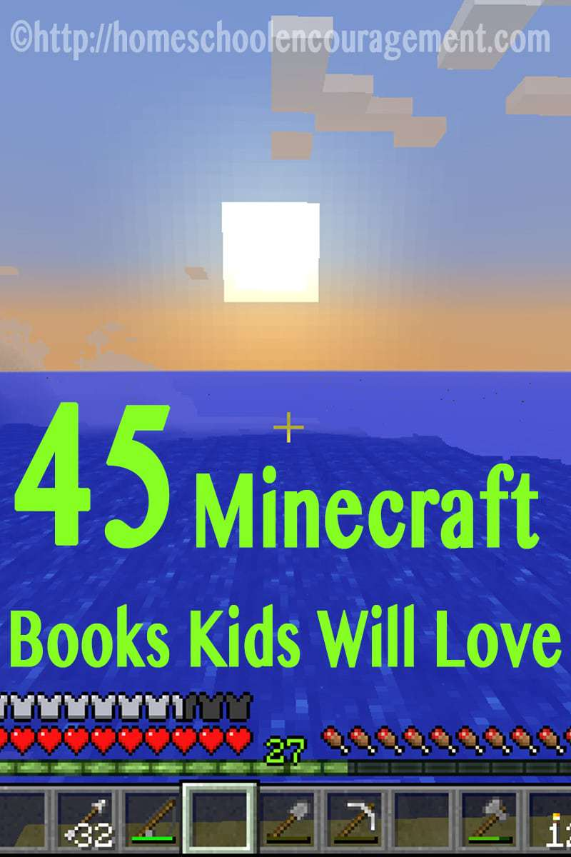 45 Awesome Minecraft Books Your Child Will LOVE