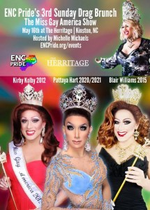 ENC Pride's 3rd Sunday Drag Brunch – The Miss Gay America Show