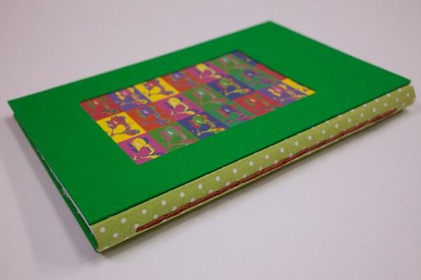 cuaderno de notas vespas