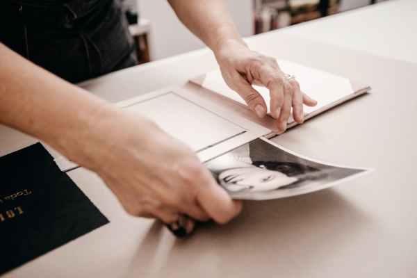 proceso de creación portaretratos artesanal