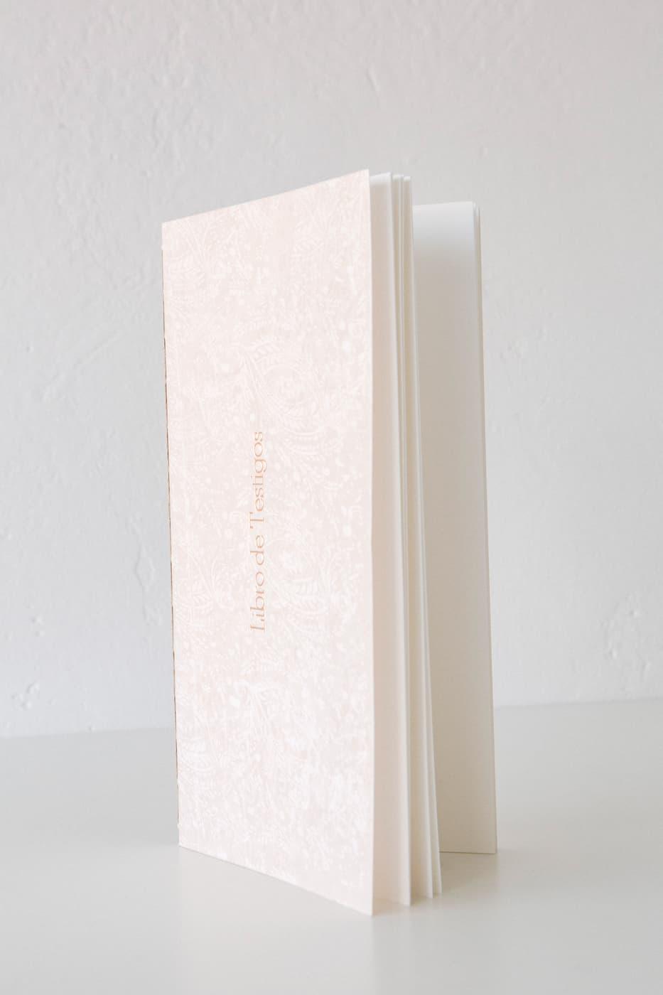 libro de testigos para bodas