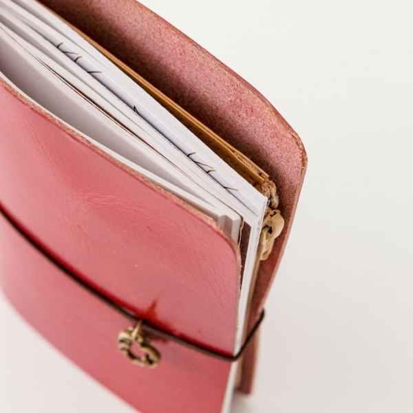 notebook midori con bolsillo interior