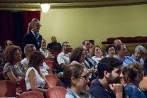 Público durante el coloquio