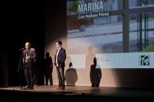 Manuel Díaz Noda presenta a Haliam Pérez.