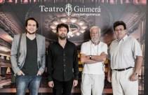 De izqda a dcha, Jairo López (Digital 104); José Cabrera Betancort (moderador); Rafael Navarro Miñón (cineasta invitado); y José Carlos Acha (concejal de Cultura del Ayuntamiento de Santa Cruz de Tenerife).