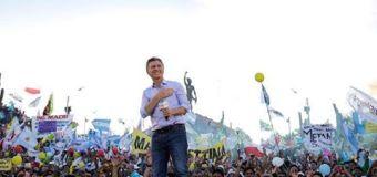 Resultados Generales Argentina al 3,85 %:  Mauricio Macri 53,61 %  Daniel Scioli 46,39 %