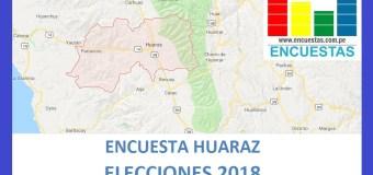 Encuesta Alcaldía de Huaraz – Agosto 2018