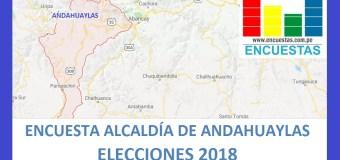 Encuesta Alcaldía de Andahuaylas – Setiembre 2018