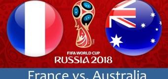 Mundial Rusia 2018: Encuesta Pronóstico, Francia vs Australia