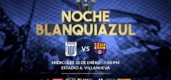 Noche Blanquiazul 2019: Alianza Lima vs Barcelona SC EN VIVO