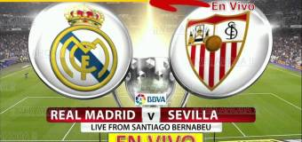 España Primera A: Real Madrid vs Sevilla EN VIVO