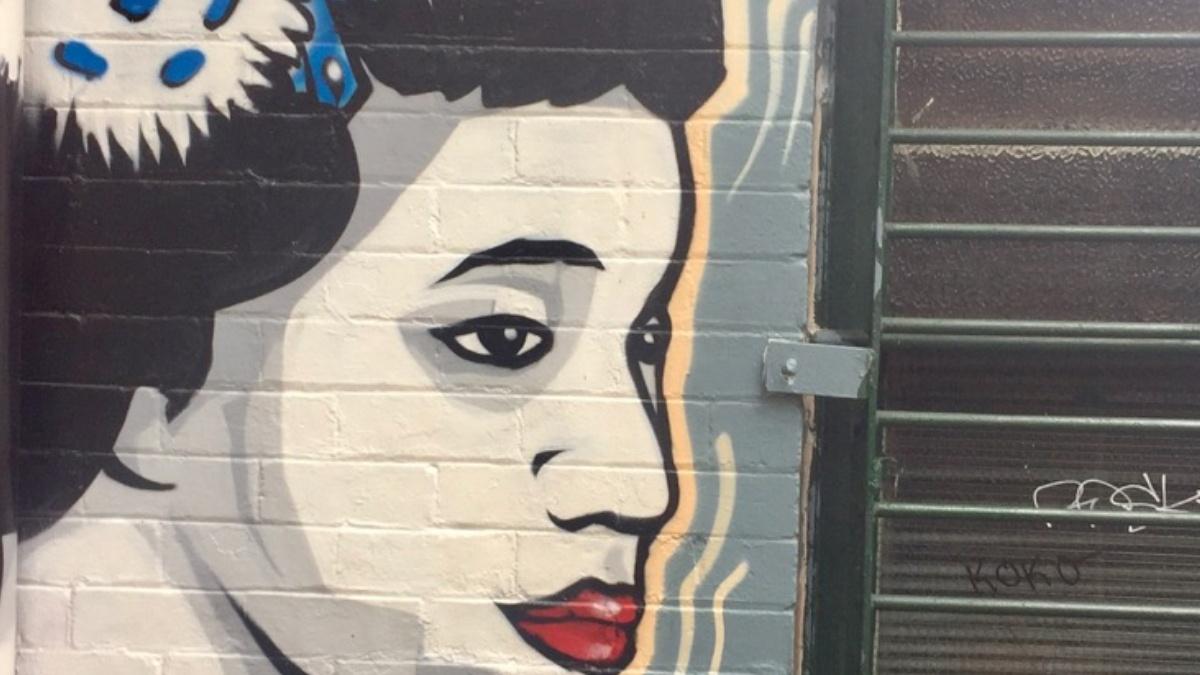 Street art - newtow