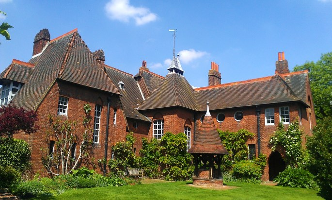 The Red House in Upton