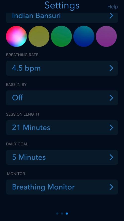 Breathing Zone application