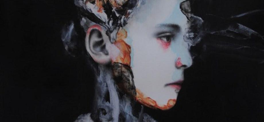 Antoine Cordet's Eerie, Mixed-Media Portraits