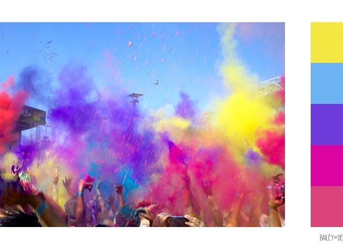 colour run palette