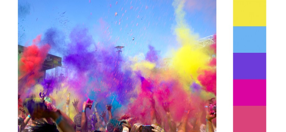 colour run palette