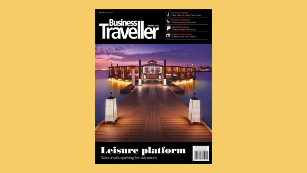business traveller cover