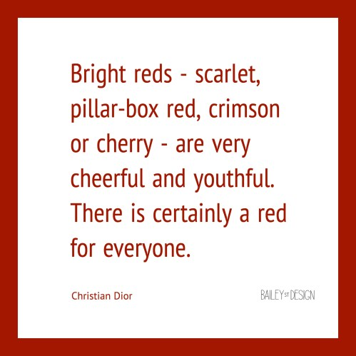 color red quote