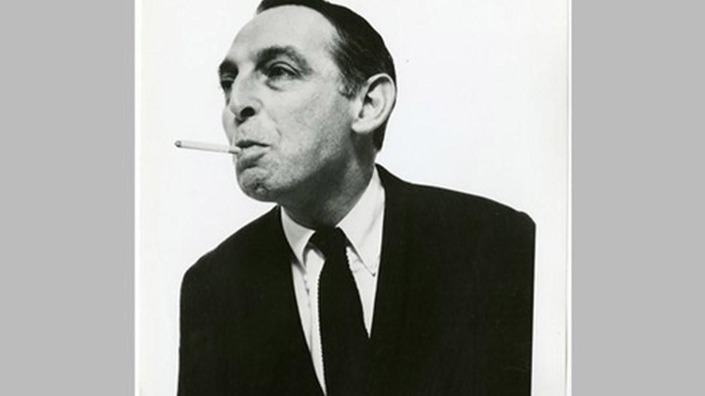 Herb Lubalin black and white photo