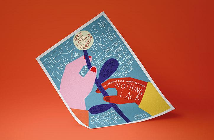 Nicer-tuesdays-dropbox-poster-anna-kovecses-marion-deuchars-illustration-itsnicethatlistimage