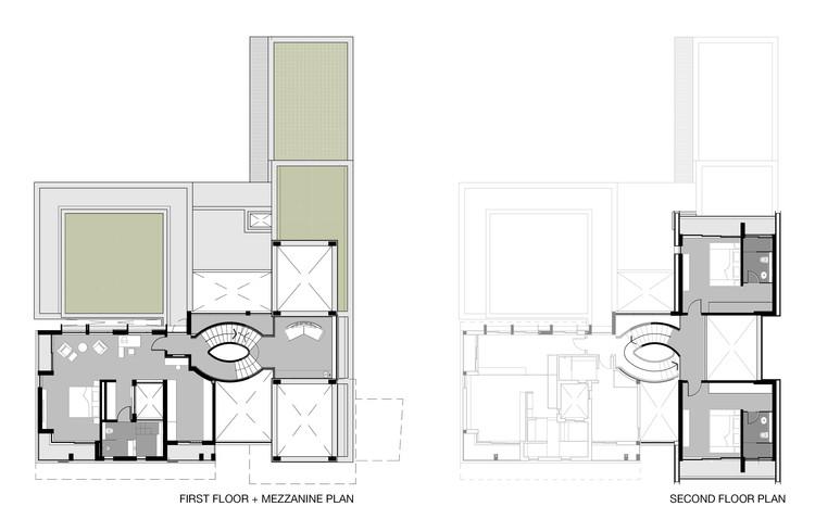 1st / 2nd Floor Plan