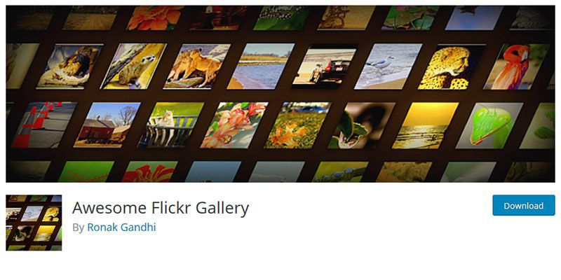 Awesome Flickr Gallery