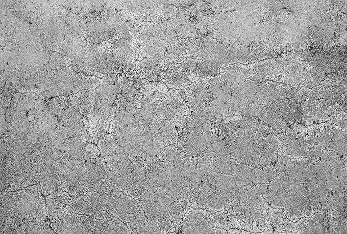 Cracked Grey Wall