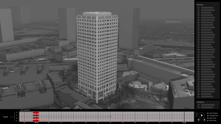 Forensic Architecture to Create a 3D Simulation of the Grenfell Tower Fire with Crowdsourced Video, Courtesy of Forensic Architecture