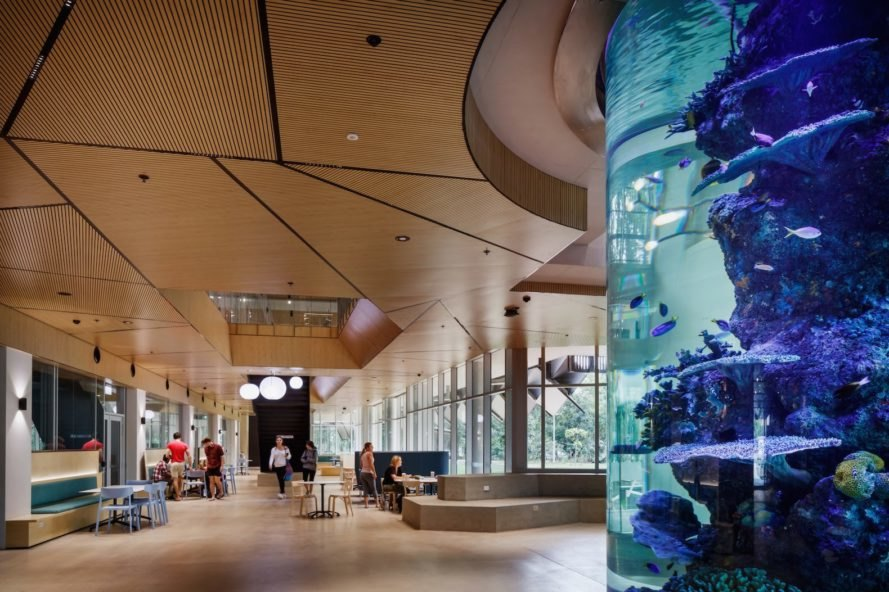 Interior view James Cook University The Science Place by HASSELL