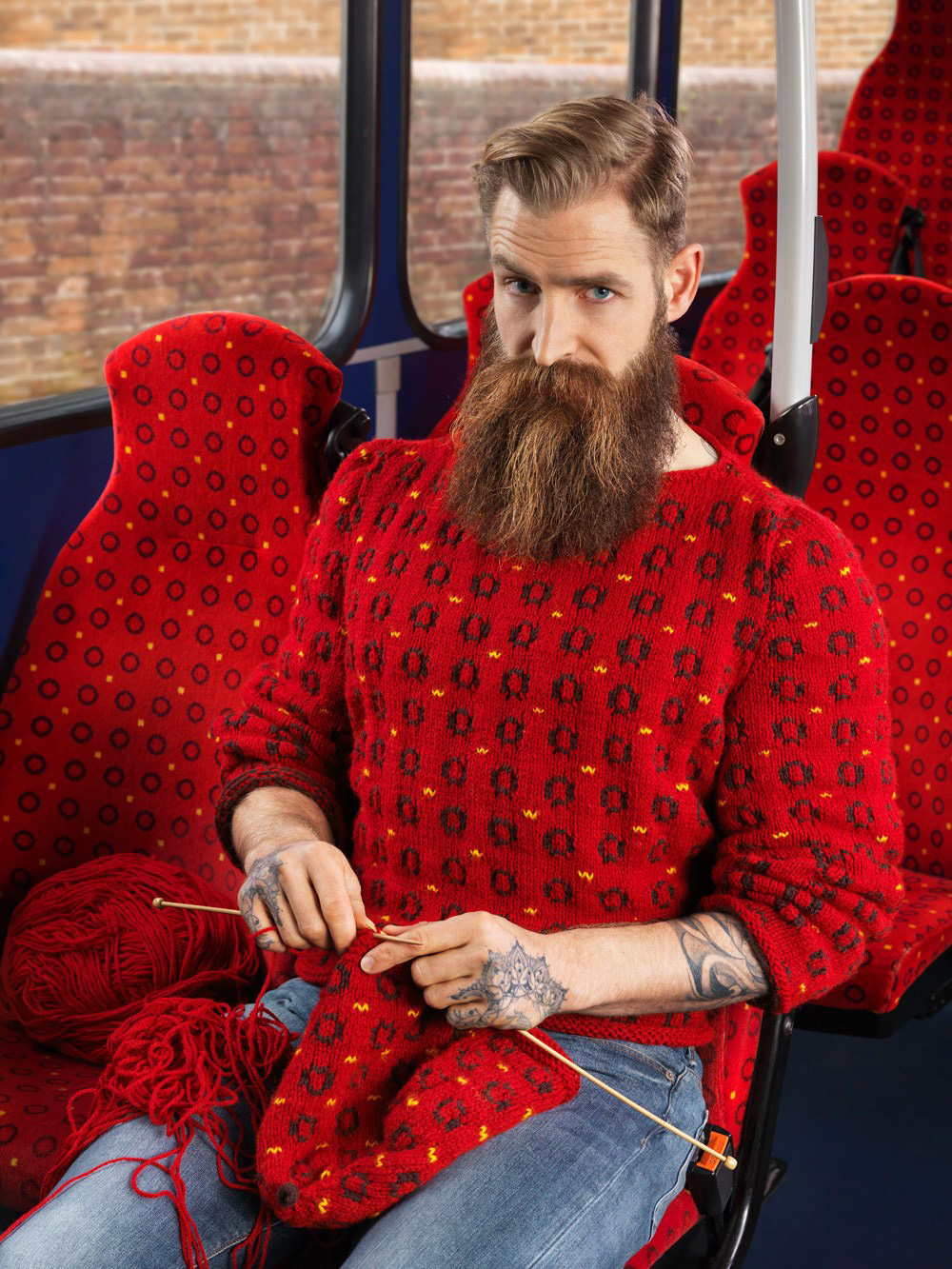 Knitted Camouflage by Joseph Ford   Yellowtrace