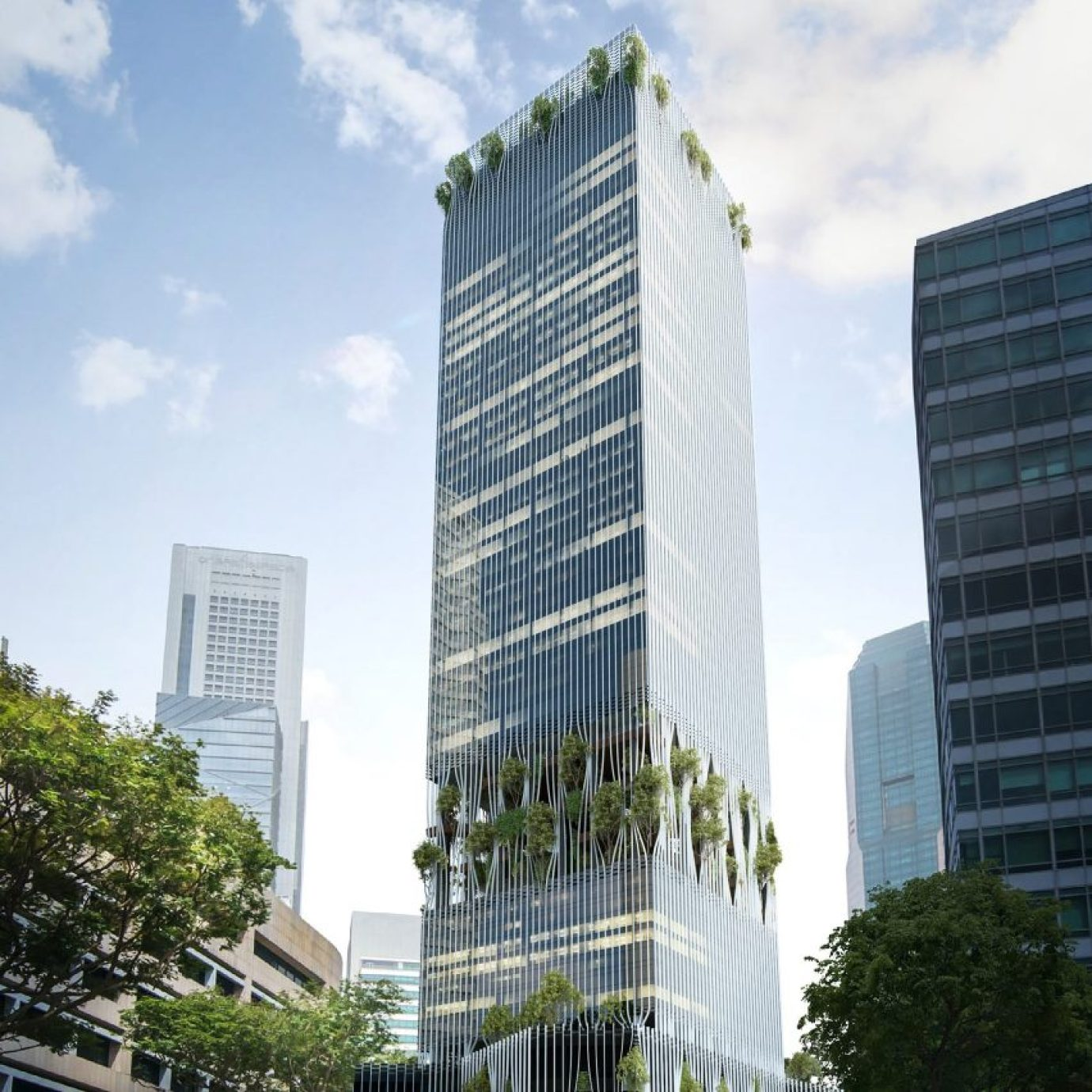 BIG and Carlo Ratti Singapore Tower