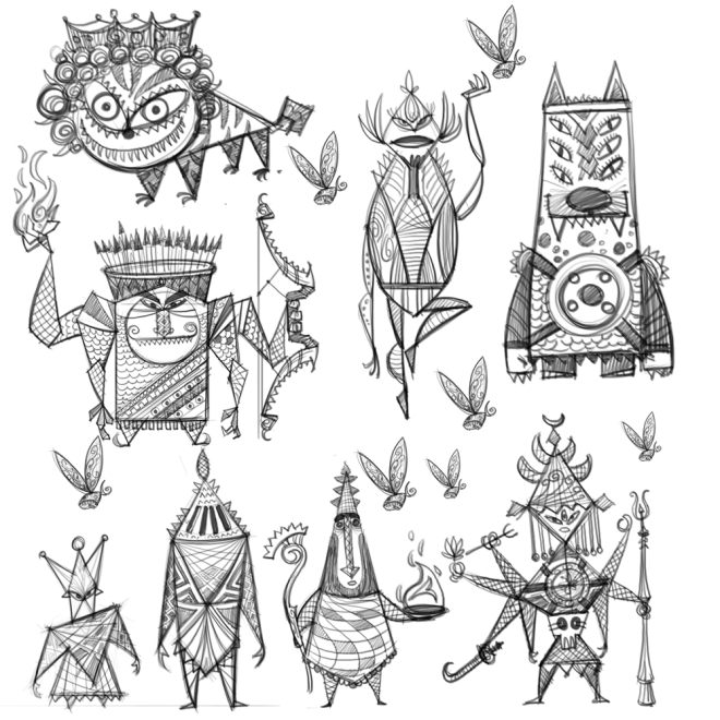character design by bala sutar