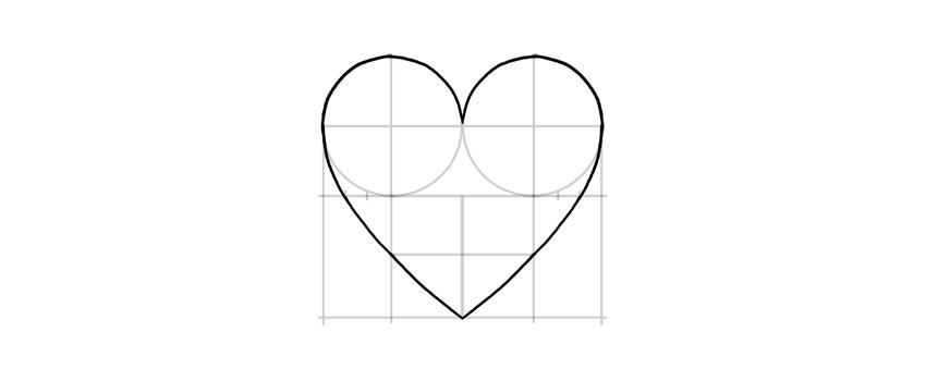 draw whole heart